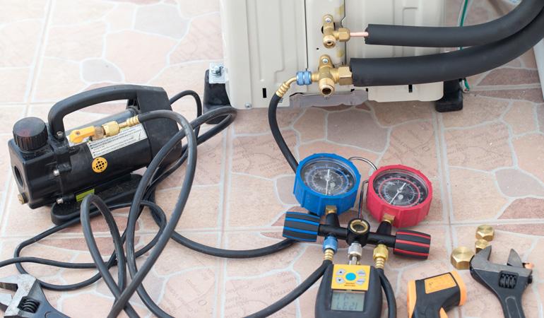 Installation d'une pompe à chaleur air-air : Coût de la main-d'oeuvre