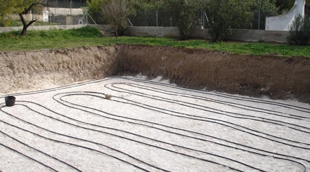 L'installation d'une pompe à chaleur géothermique