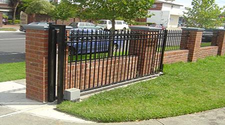 L'installation d'un portail coulissant
