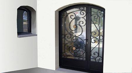 prix d 39 une porte d 39 entr e en acier co t moyen tarif de pose. Black Bedroom Furniture Sets. Home Design Ideas