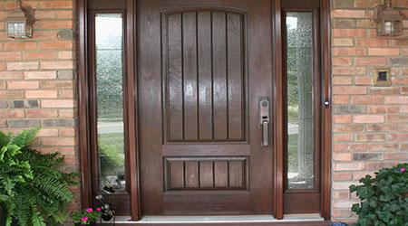 L'installation d'une porte d'entrée sur mesure