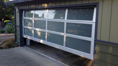 L'installation d'une porte de garage électrique