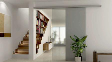 L'installation d'une porte intérieure en verre