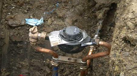 La réalisation du raccordement à l'eau