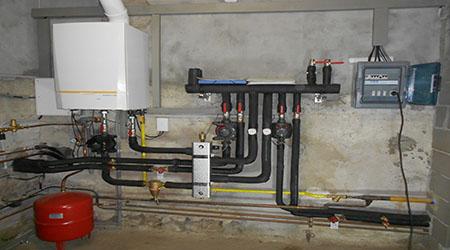 La réalisation du raccordement au gaz