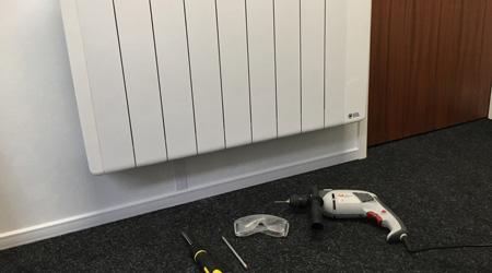 L'installation d'un radiateur à accumulation