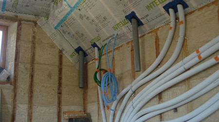 L'installation d'une VMC double flux