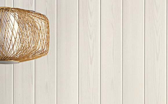 Du lambris dans une salle de bain pvc ou bois trait - Lambris bois ou pvc ...