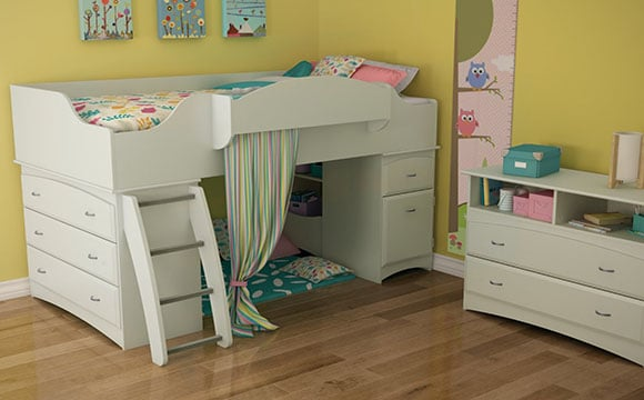 Le lit : élément principal pour un aménagement de chambre d'enfant