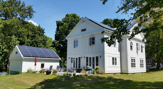 Les maisons zéro énergie, une idée de plus