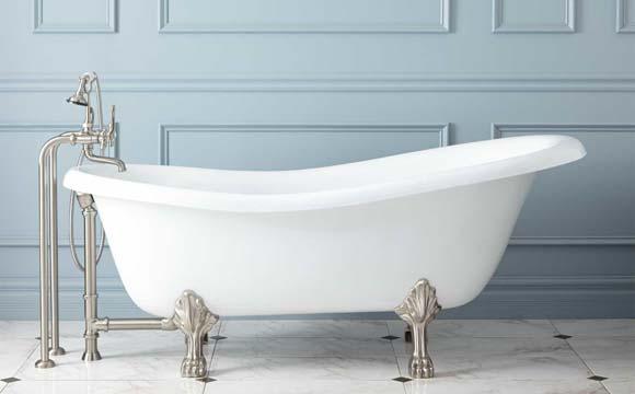 une baignoire ilot pour une salle de bain design et confortable. Black Bedroom Furniture Sets. Home Design Ideas