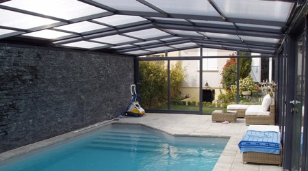 Prix d 39 une piscine couverte co t de construction for Cout construction piscine 10x5
