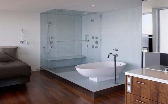 Les matériaux disponibles pour la pose d'une paroi de douche