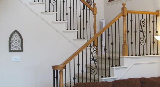 Quels sont les matériaux disponibles pour une rampe d'escalier