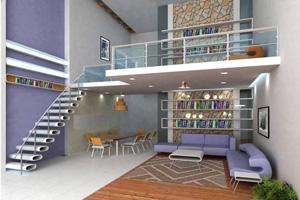 Créer une mezzanine dans le salon, c'est possible !