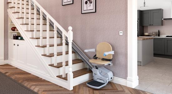 Les monte-escaliers droits, les plus économiques