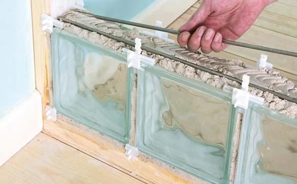 Comment monter un mur en briques de verre