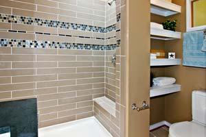 Une mosaïque pour sublimer votre salle de bain
