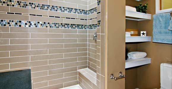 une mosaque pour sublimer votre salle de bain