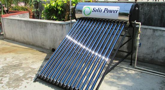 Les panneaux solaires thermiques