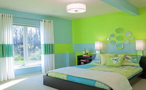 La peinture pour aménager une chambre