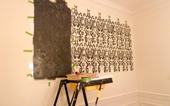 Envisager une peinture décorative