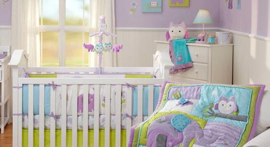La peinture écologique est idéale pour la chambre de bébé
