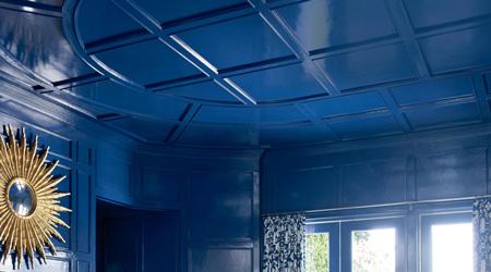 Peinture de plafond : matte, satinée ou laquée