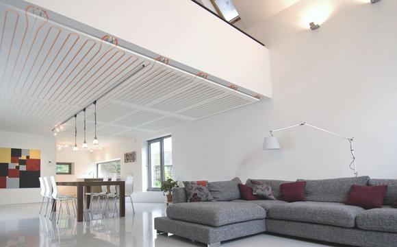 Installer un plafond rayonnant