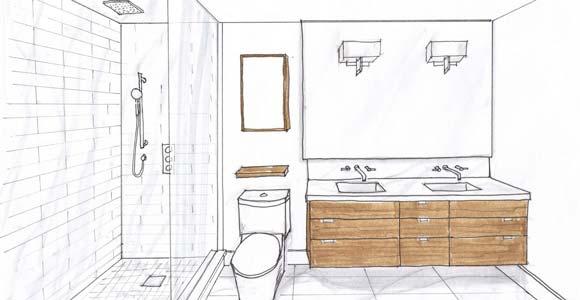 Plan de salle de bain trouver ou concevoir un plan id al for Comment concevoir un plan de maison