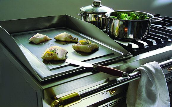 La plaque de cuisson plancha