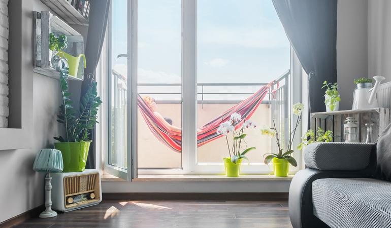 Une porte-fenêtre d emarque connue vous assure la tranquillité d'esprit