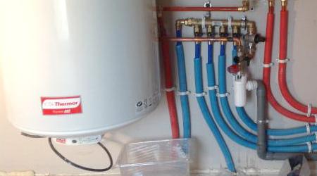 L'installation d'un chauffe eau électrique