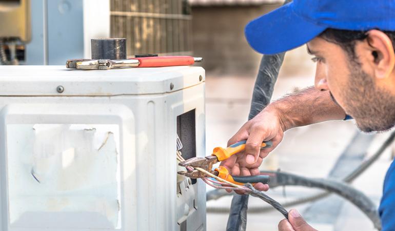 Pose d'une climatisation gainable : Coût de la main-d'œuvre