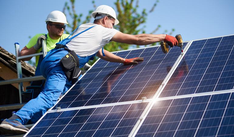 Pose d'une climatisation solaire : Coût de la main-d'oeuvre