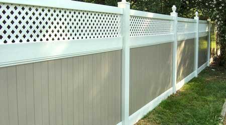 La pose d'une clôture PVC