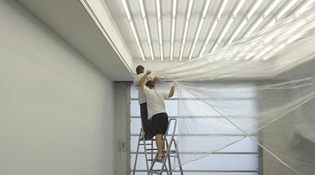 Faux plafond tendu