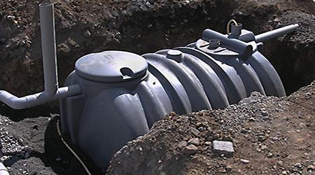 L'installation d'une fosse septique
