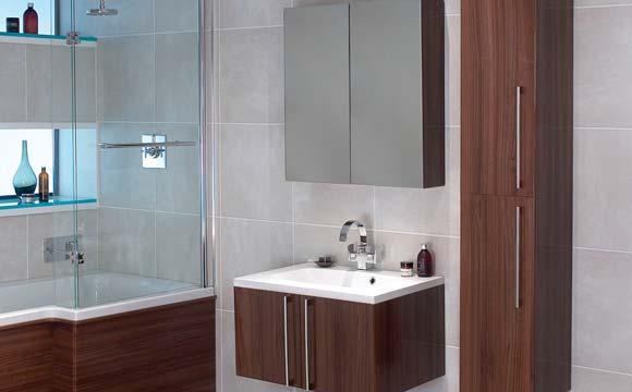 La pose d'un meuble de salle de bain