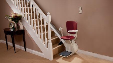 L'installation d'un monte escalier