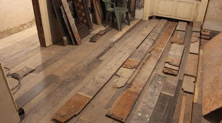 La pose d'un plancher bois