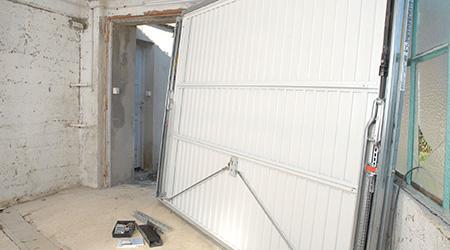 L'installation d'une porte de garage