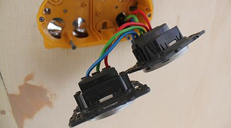 L'installation d'une prise électrique