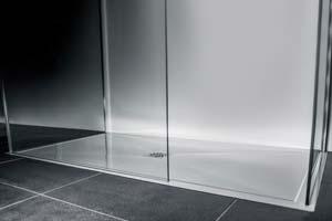 Les travaux de pose d'un receveur de douche ou bac à douche
