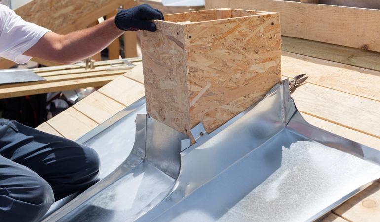 Pose d'une toiture en zinc : Coût de la main-d'oeuvre