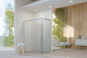 Poser une paroi de douche fixe, pivotante ou coulissante ?
