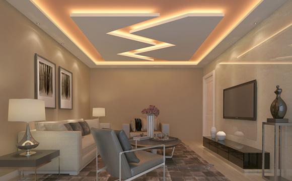 faux plafond d 39 un salon estimations id es et conseils utiles. Black Bedroom Furniture Sets. Home Design Ideas