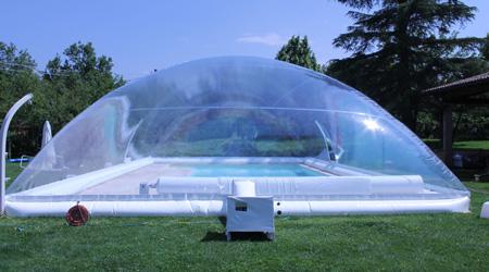 Prix d'un abri de piscine repliable