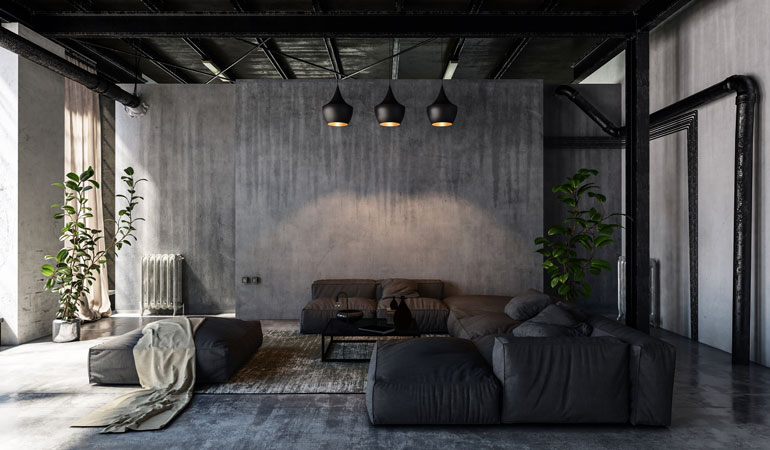 Tarif d'un béton ciré au m² : Revêtements texturés