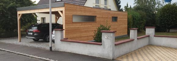 Prix d 39 un carport tarif moyen co t de construction for Construction garage en beton
